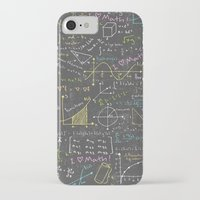 math iPhone & iPod Cases featuring Math Lessons by robyriker