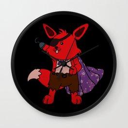 Super Foxy Wall Clock