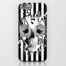 Limbo, Skull with poppy eyes Slim Case iPhone 6