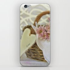 Message in a Basket  iPhone & iPod Skin