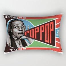 One Man Party Rectangular Pillow