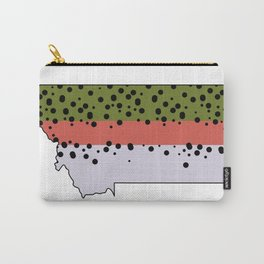 Montana Rainbow Trout Carry-All Pouch