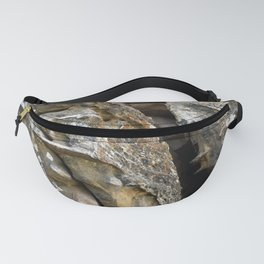 Where Ancients Walked Natural Earth Art Rock Texture Fanny Pack
