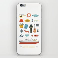 The Captain Jacques Kit iPhone Skin