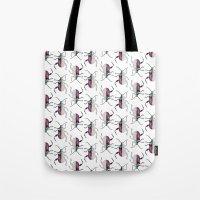 beetle Tote Bags featuring Beetle by Bekka Kate Art