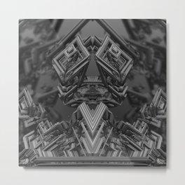 Industrialized Metal Print