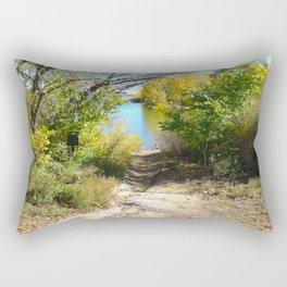Down to the Lake Rectangular Pillow