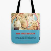 notebook Tote Bags featuring The Notebook - Nick Cassavetes by Smart Store