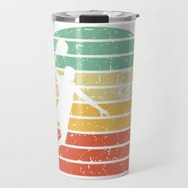 Basketball player basket color shade gift Travel Mug