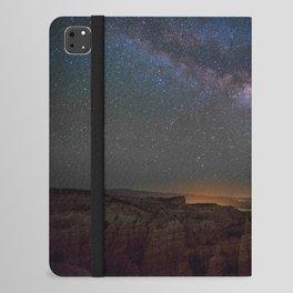 Fairyland Canyon Starry Night Photography iPad Folio Case