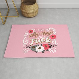 Sh*t People Say: I Like Pretty Things and the Word Fuck Rug