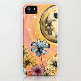 Moondance iPhone Case