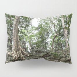 Ta Phrom, Angkor Archaeological Park, Siem Reap, Cambodia Pillow Sham