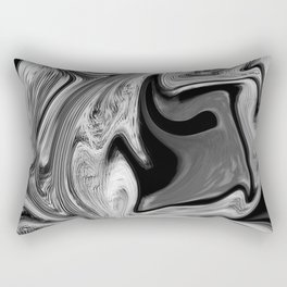CONFUSE - BLACK Rectangular Pillow