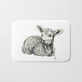 Baby Animals - Lamb Bath Mat
