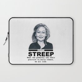 Meryl Streep Laptop Sleeve