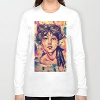 agnes Long Sleeve T-shirts featuring Agnes Mackenzie by Olga Noes