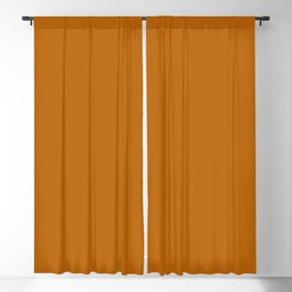 Best Seller Colors of Autumn Golden Brown Single Solid Color - Accent Hue / Shade / Colour Blackout Curtain