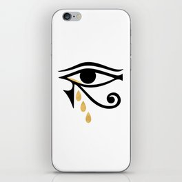 ALL SEEING CRY - Eye of Horus iPhone Skin