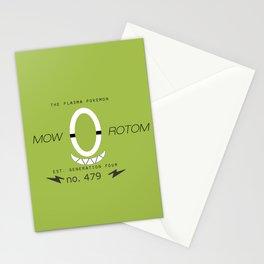 Rotom (Mow) Stationery Cards