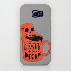 Death Before Decaf Slim Case Galaxy S7