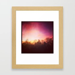 Rose Colored Glasses Framed Art Print
