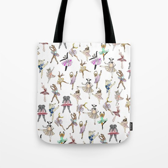 Animal Square Dance Hipster Ballerinas by notsniw