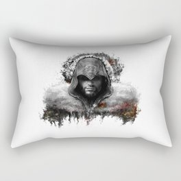 assassins creed ezio auditore Rectangular Pillow