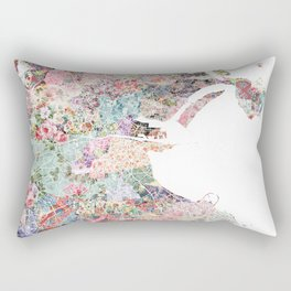 Dublin map Rectangular Pillow