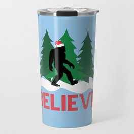 Cryptid Christmas Miracle Travel Mug