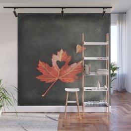 Autumn Love Wall Mural