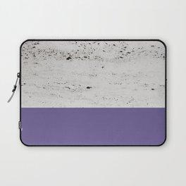 Ultra Violet on Concrete #3 #decor #art #society6 Laptop Sleeve