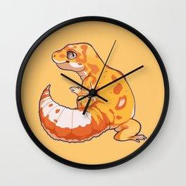 High Contrast Leopard Gecko Wall Clock