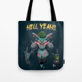 Hell Yeah Cat Tote Bag