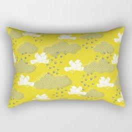 Rain Birds - Sulpher Rectangular Pillow