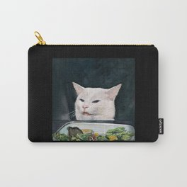 Woman Yelling at Cat Meme-4 Carry-All Pouch