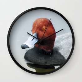 There is Nothing Like a Redhead Wall Clock
