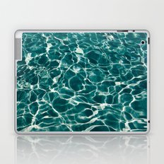 SEA - blue , white ocean , waves , clear , clarity Laptop & iPad Skin