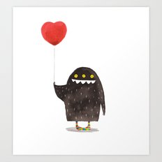 Love Monster Art Print