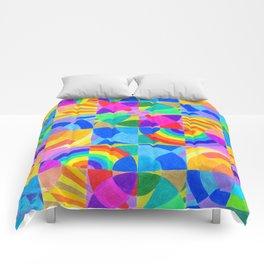 Interconnection Comforters