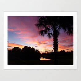 Sunrise Magic Art Print