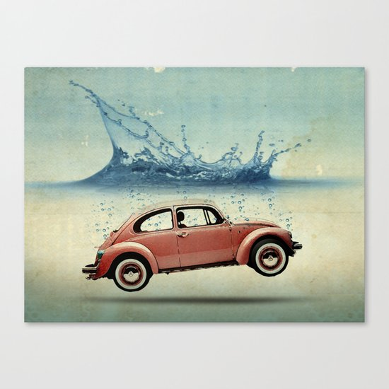 Drop in the Ocean Canvas Print