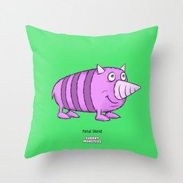 Porkal Snorkle Throw Pillow