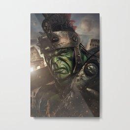 Planet Hulk Metal Print