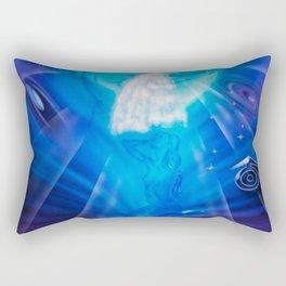 Zodiac sign Aquarius - Happy Birthday 3 Rectangular Pillow
