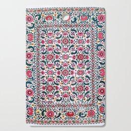 Shakhrisyabz Suzani Uzbekistan Embroidery Cutting Board