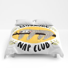 Afternoon Nap Club Sloth Comforters