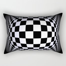 black-and-white -01- Rectangular Pillow