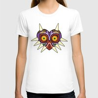 majoras mask T-shirts featuring Majoras Mask by fiono