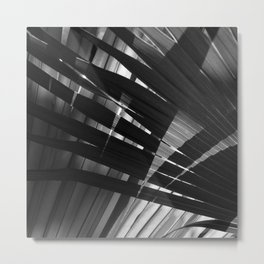 Abstract Palm Leaves 8 Metal Print